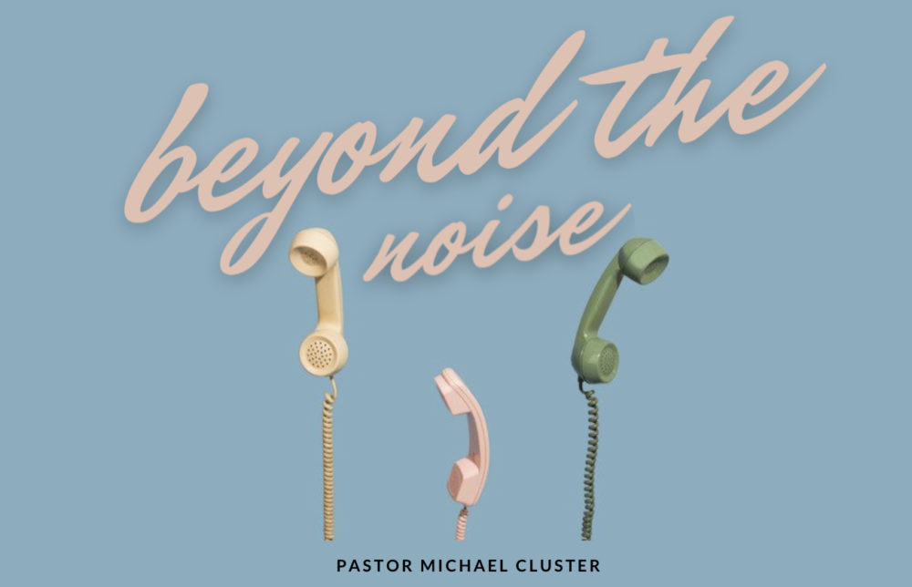 Faster Than The Noise – Pastor Michael Cluster
