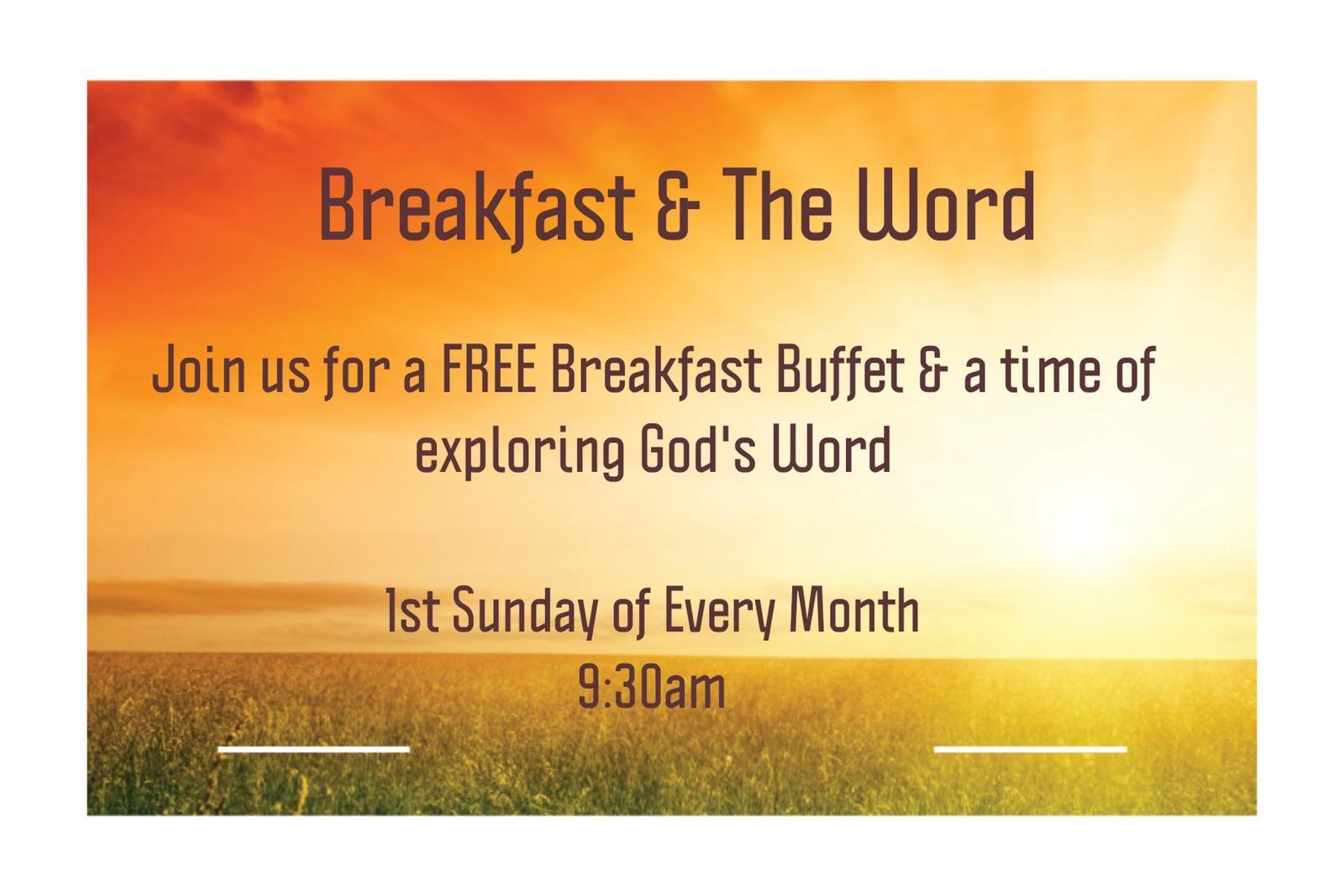 Lewistown Breakfast & The Word